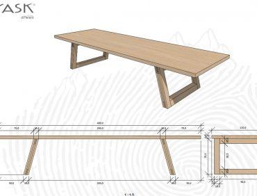 YASK maatwerk tafel Solgar