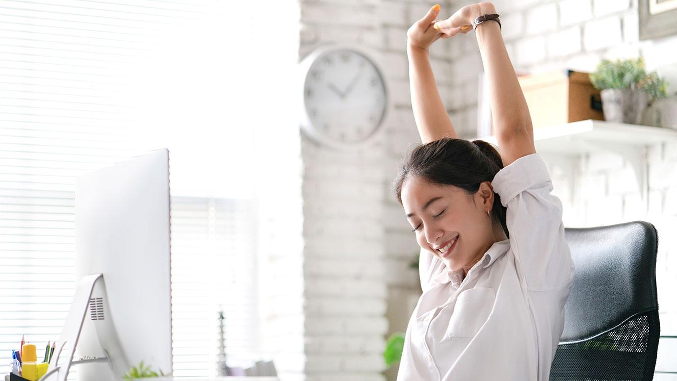 5 voordelen van de ergonomische bureaustoel